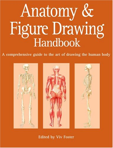Anatomy and Figure Drawing Handbook: A Comprehensive Guide to the Art of Drawing the Human Body - Viv Foster