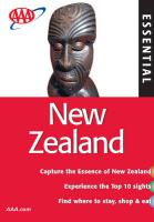 AAA Essential New Zealand, 7th Edition