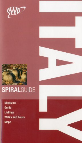 AAA Spiral Italy (AAA Spiral Guides: Italy) - Sally Roy; Teresa Fisher; Rebecca Ford; Tim Jepson