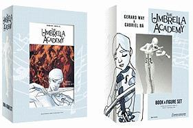 Umbrella Academy Book and Figure Set
