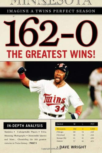 162-0: Imagine a Twins Perfect Season: The Greatest Wins! - Dave Wright