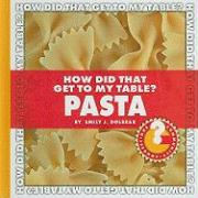 How Did That Get to My Table? Pasta