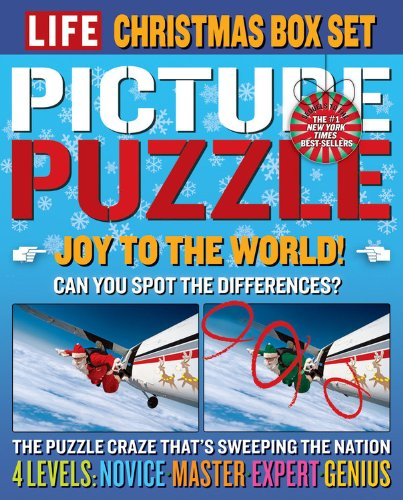 LIFE Picture Puzzle Christmas Box Set - Editors of Life