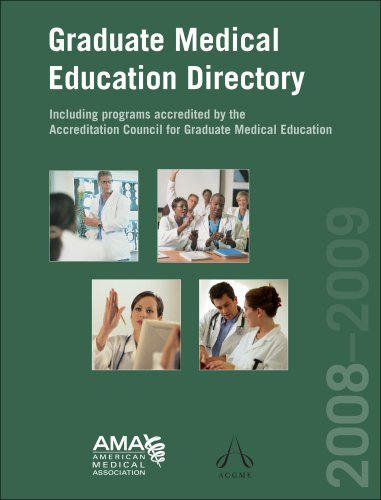 Graduate Medical Education Directory 2008-2009 - American Medical Association