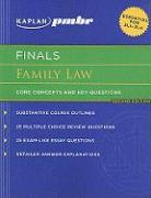 Kaplan PMBR Finals: Family Law: Core Concepts and Key Questions