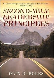 Second-Mile Leadership Principles