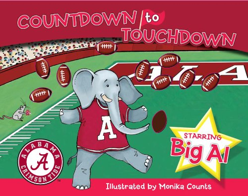 Alabama Countdown to Touchdown - Piggy Toes Press