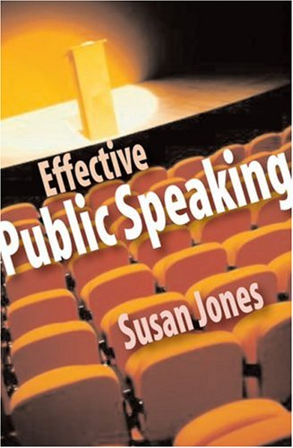 Speechmaking - Susan Jones