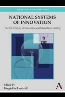 18433national Systems of Innovation: Toward a Theory of Innovation and Interactive Learning