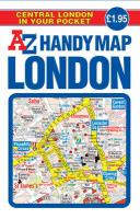 Handy Map of Central London (Street Maps & Atlases)
