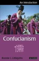 Confucianism: An Introduction (I.B.Tauris Introductions to Religion)