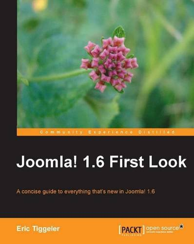 Joomla! 1.6 First Look - Eric Tiggeler