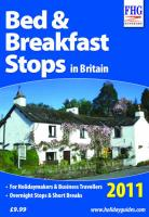 Bed & Breakfast Stops in Britain, 2011 2010 (Farm Holiday Guides)