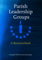 Parish Leadership Groups: A Resourcebook