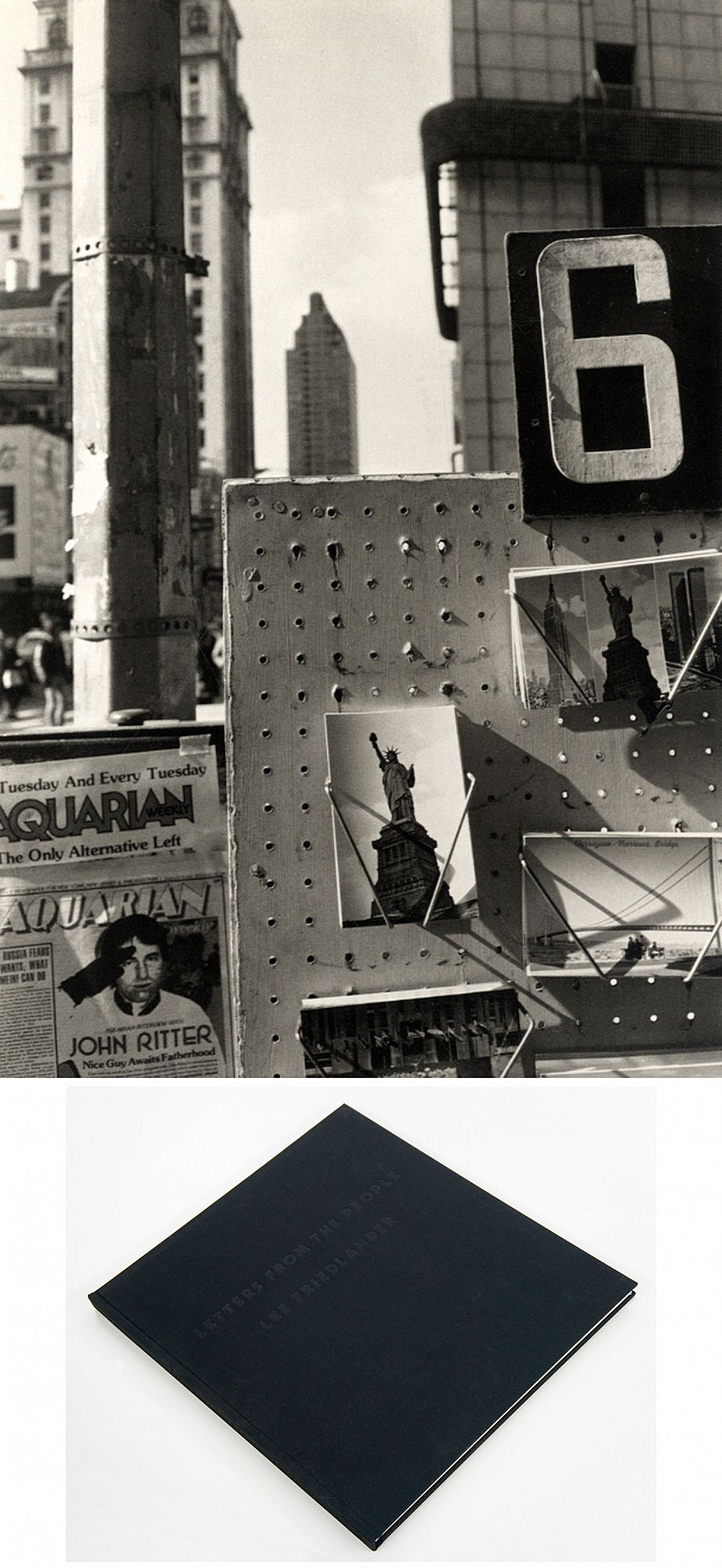 Lee Friedlander: Letters from the People (Special Limited Edition with One Vintage Gelatin Silver Print:
