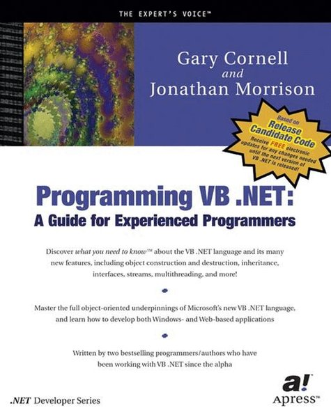 Programming VB.NET. - Cornell, Gary and Jonathan Morrison