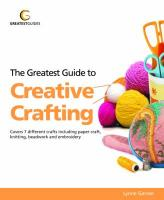 Greatest Guide to Creative Crafting