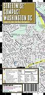 Streetwise Compact Washington DC Map: 20% Smaller Than Our Regular Washington DC Map