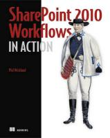 SharePoint 2010 Workflows in Action