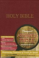 Thompson Answer Bible-KJV: Discovering Treasures of Truth for Youth