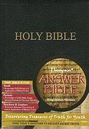 Thompson Answer Bible-KJV: Discovering Treasures of Truth for Young