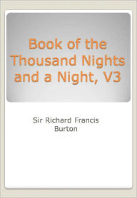 Book of the Thousand Nights and a Night, V3