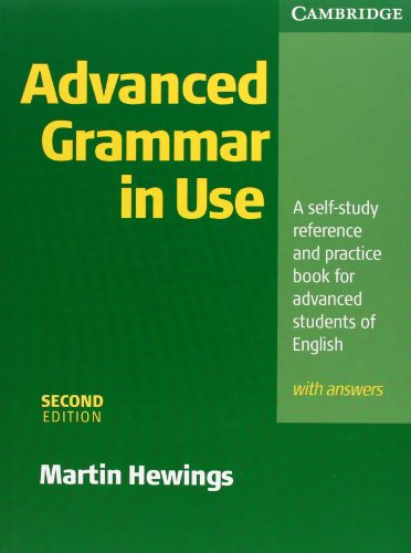Advanced Grammar in Use with Answers Klett Edition - Hewings, Martin