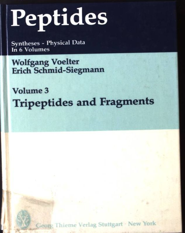 Peptides: Tripeptides and Fragments Vol 3