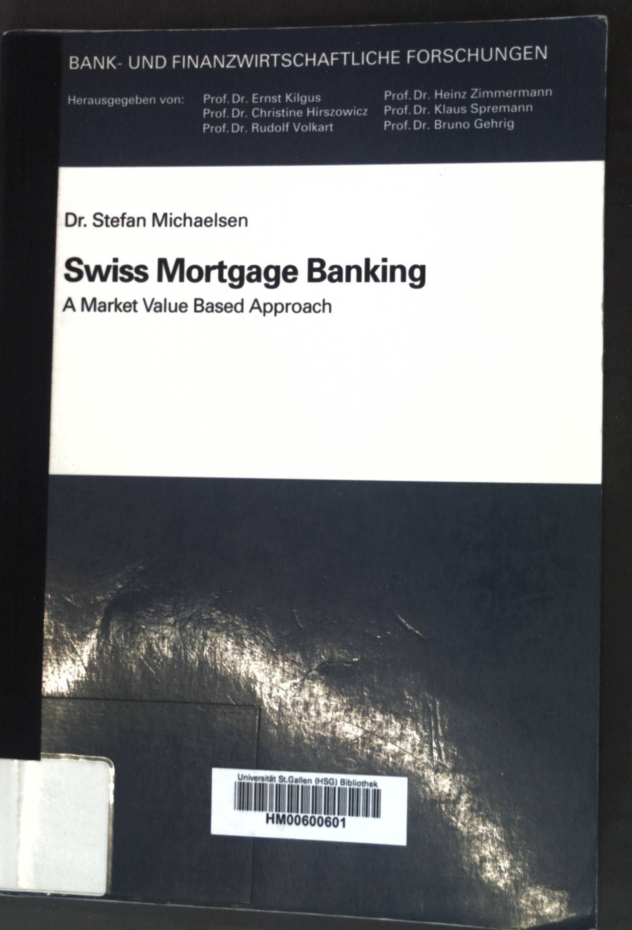 Swiss Mortgage Banking.