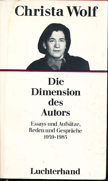 Die Dimension des Autors.