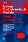 Springer Großwörterbuch Medizin - Medical Dictionary Deutsch-Englisch / English-German (Springer-Wörterbuch)