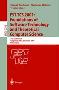 FST TCS 2001: Foundations of Software Technology and Theoretical Computer Science