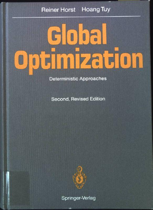Global optimization : deterministic approaches. - Horst, Reiner and Hoang Tuy