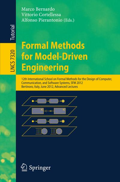 Formal Methods for Model-Driven Engineering - Marco Bernardo