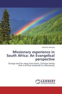 Missionary experience in South Africa: An Evangelical perspective