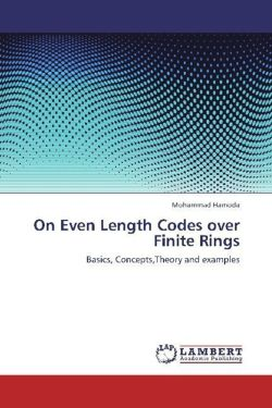 On Even Length Codes over Finite Rings