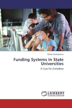 Funding Systems In State Universities - Gwangwava, Edson