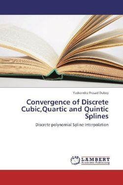 Convergence of Discrete Cubic,Quartic and Quintic Splines