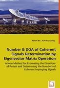 Number & DOA of Coherent Signals Determination by Eigenvector Matrix Operation