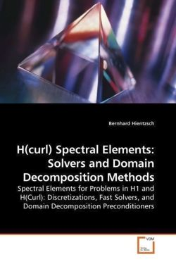 H(curl) Spectral Elements: Solvers and Domain Decomposition Methods
