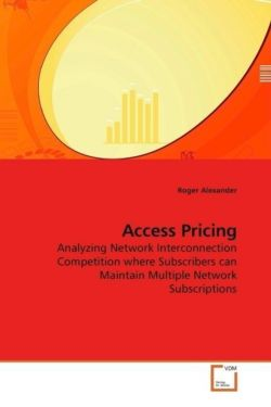 Access Pricing - Alexander, Roger
