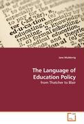 The Language of Education Policy