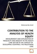 CONTRIBUTION TO THE ANALYSIS OF HEALTH EQUITY