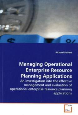 Managing Operational Enterprise Resource PlanningApplications