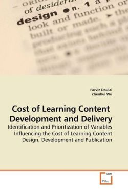Cost of Learning Content  Development and Delivery