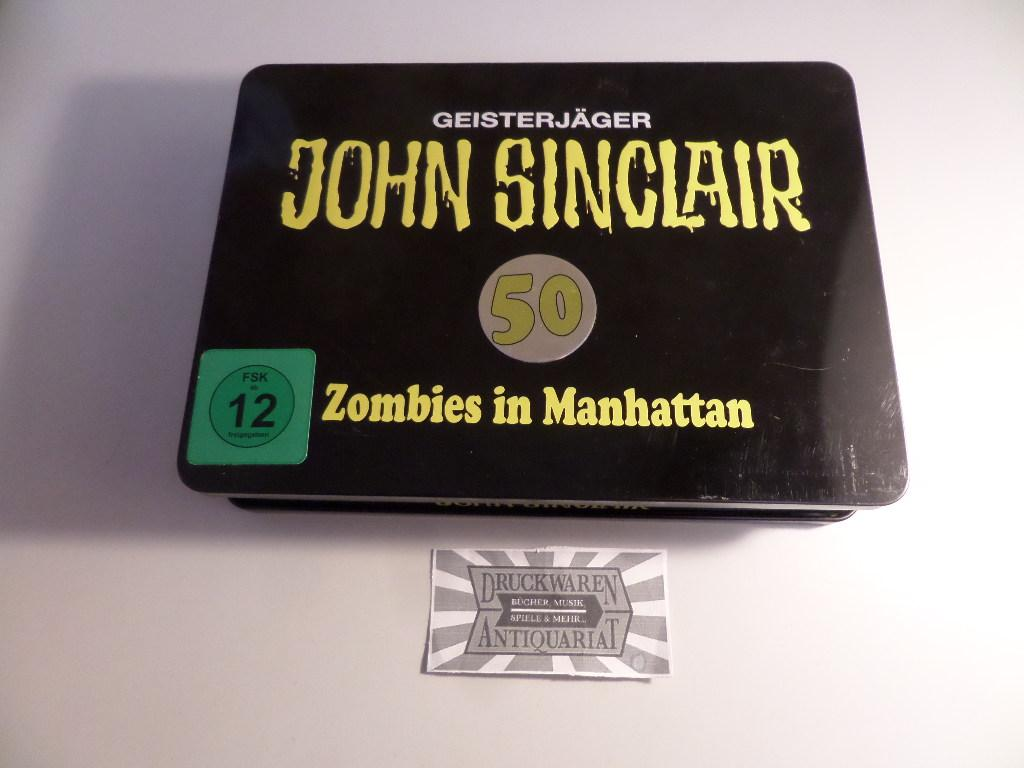 John Sinclair : Zombies in Manhattan - Special Limited Edition [Hörspiel, DVD + Audio-CD]. John Sinclair Folge 50.