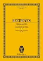 Two Romances for Violin and Orchestra: Op. 40 in G Major and Op. 50 in F Major