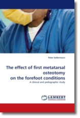 The effect of first metatarsal osteotomy on the forefoot conditions