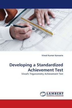 Developing a Standardized Achievement Test - Kanvaria, Vinod Kumar