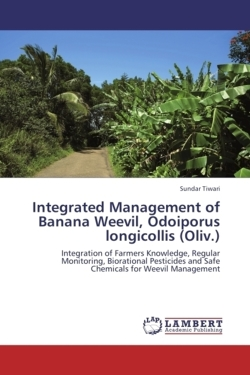 Integrated Management of Banana  Weevil, Odoiporus longicollis (Oliv.) - Tiwari, Sundar